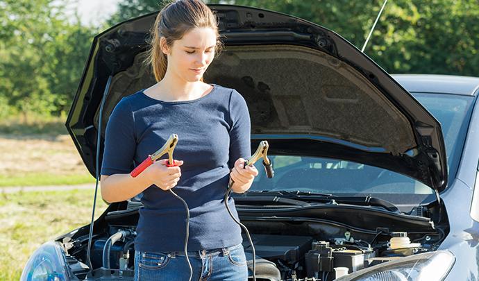 La batterie d'une voiture en panne, que faire?