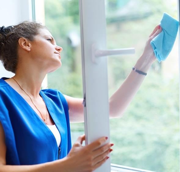 Comment nettoyer la vitre fixe