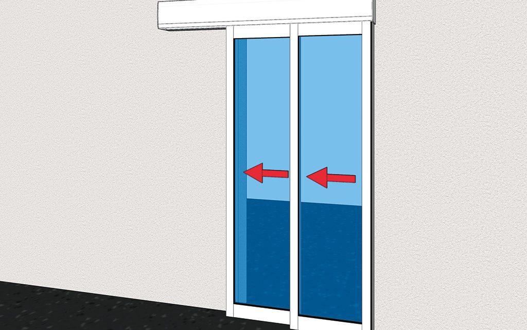 Les portes automatiques télescopiques : fonctionnement et avantages